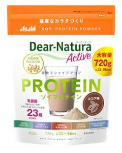 アサヒ ディアナチュラアクティブ ソイプロテイン ココア味 約32~96回分 (720g) プロテイン
