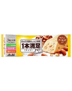 アサヒ 1本満足バー ベイクド ナッツ (1本) 栄養サポート食品