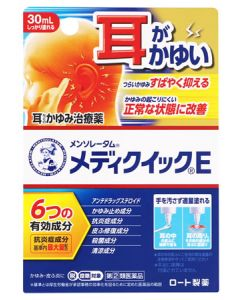 【第(2)類医薬品】ロート製薬 メンソレータム メディクイックE (30mL) かゆみ 皮ふ炎