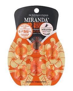 ミランダバリスタイルヘアオイル(6mL)ヘアオイル洗い流さないトリートメントMIRANDA