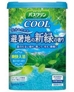 バスクリンクール避暑地の新緑の香り(600g)薬用入浴剤【医薬部外品】