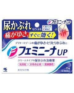 【第2類医薬品】小林製薬 フェミニーナUP (15g) 尿かぶれ治療薬 非ステロイド