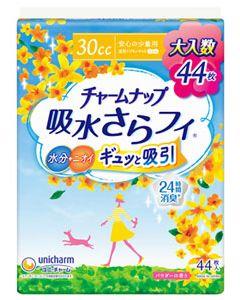 ユニチャームチャームナップ吸水さらフィ安心の少量用30cc23cm(44枚)軽失禁ナプキン
