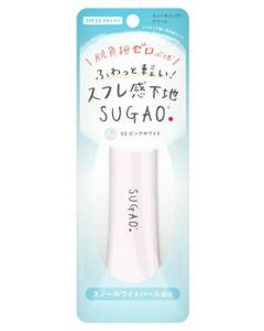 ロート製薬スガオスノーホイップクリームピンクホワイト02(25g)SPF23PA+++化粧下地SUGAO