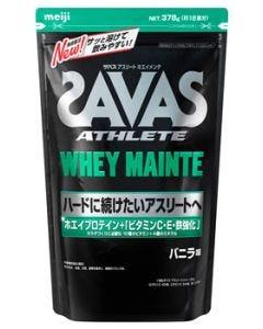 明治ザバスアスリートホエイメンテバニラ味約18食分(378g)プロテインパウダー亜鉛栄養機能食品