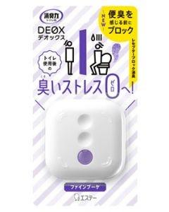 エステー 消臭力 DEOX トイレ用 本体 ファインブーケ (6mL) 消臭力 トイレ用 消臭・芳香剤
