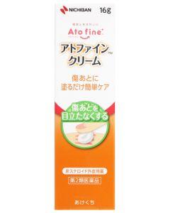 【第2類医薬品】ニチバンアトファインクリーム(16g)非ステロイド外皮用薬傷あと