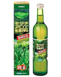 オリヒロ キダチアロエ生葉搾り (500mL) 静岡県産 ※軽減税率対象商品