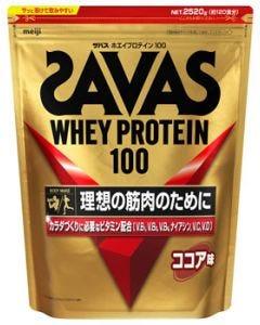 明治ザバスホエイプロテイン100ココア味(2520g)プロテインパウダーSAVAS