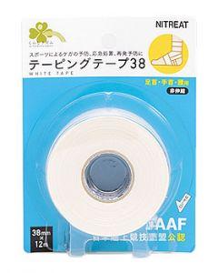 くらしリズムニトリートテーピングテープ38足首用非伸縮38mm×12m(1巻)足首・手首・腰用テーピングテープ