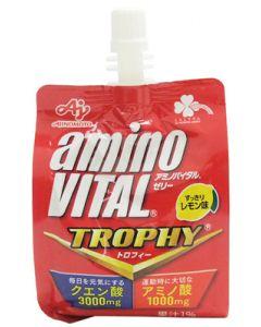 くらしリズム味の素アミノバイタルゼリートロフィーすっきりレモン味(180g)ゼリー飲料クエン酸3000mgアミノ酸1000mg