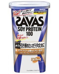 明治ザバスソイプロテイン100ミルクティー風味約11食分(231g)プロテインパウダー