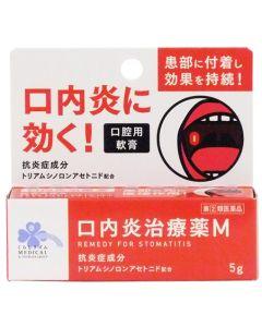 【第(2)類医薬品】くらしリズムメディカル福地製薬口内炎治療薬M(5g)口腔用軟膏