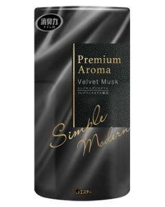 エステー 消臭力 トイレ用 プレミアムアロマ ベルベットムスク (400mL) Premium Aroma 消臭 芳香剤