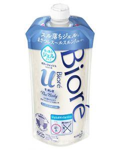 花王ビオレuザボディジェルタイプピュアリーサボンの香りつめかえ用(340mL)詰め替え用ボディウォッシュ