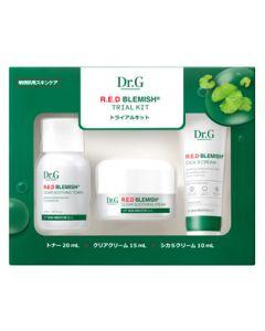 Dr.G ドクタージー トライアルキット トナー&クリアクリーム&シカSクリーム (1セット) 化粧水 保湿クリーム