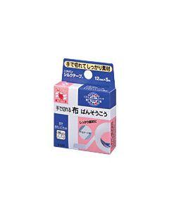 ニチバン 手で切れる布ばんそうこう シルクテープ