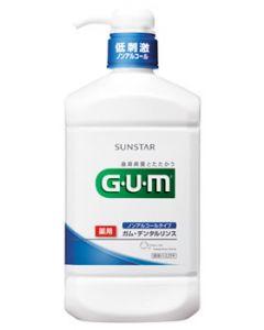 サンスター GUM ガム 薬用デンタルリンス ノンアルコールタイプ (960ml)