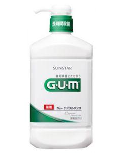 サンスター GUM ガム 薬用デンタルリンス レギュラータイプ (960ml)