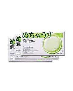 めちゃうす潤いゼリー1500 コンドーム 3個パック(計36個入) 【送料無料】