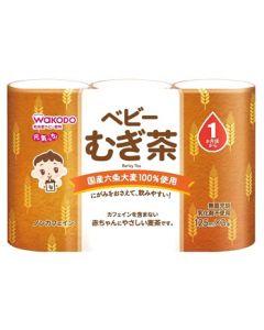 【特売セール】 和光堂 ベビー飲料 元気っち むぎ茶 (125ml×3本) 1ヶ月頃から 麦茶 ※軽減税率対象商品
