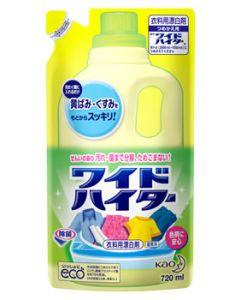 【特売セール】 花王 ワイドハイター つめかえ用 (720mL) 詰め替え用 衣料用酸素系漂白剤