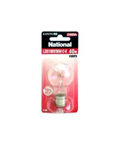 ナショナル ミニクリプトン電球 【LDS100V36W・C・K】