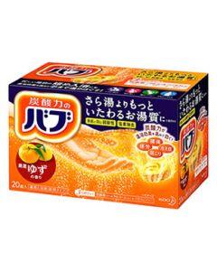 花王 バブ ゆずの香り (20錠) 入浴剤 【医薬部外品】