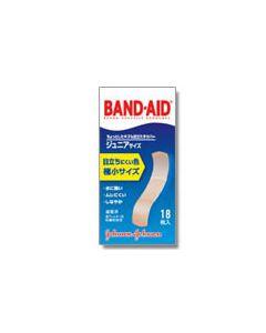 救急絆創膏 バンドエイド 肌色タイプ ジュニアサイズ (18枚入)
