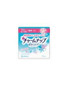 ユニチャーム チャームナップ 吸水ライナー 【50cc 中量用】 (10枚入)