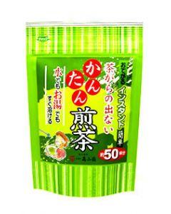 松江森山園 茶がらの出ないかんたん煎茶 (約50杯分 40g) ※軽減税率対象商品