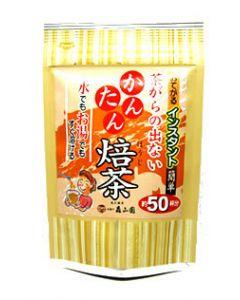 松江森山園 茶がらの出ないかんたん焙茶 ほうじ茶 (約50杯分 40g) ※軽減税率対象商品