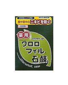 黒龍堂 薬用クロロフィル石鹸 復刻版 (85g)