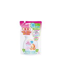 牛乳石鹸 キューピー 泡タイプベビーシャンプー 【泡タイプ】 つめかえ用 (300ml)