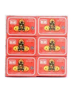 中外マッチ社 やわらぎ みつだいこ ノンサルファ 脱硫 (37本×12箱)