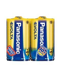 パナソニック エボルタ EVOLTA アルカリ乾電池 【単1形】 (2本パック) LR20EJ/2SE