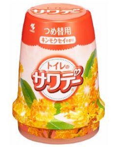小林製薬 Sawaday サワデー キンモクセイの香り トイレ用 つめかえ用 (140g) 詰め替え用 芳香・消臭剤