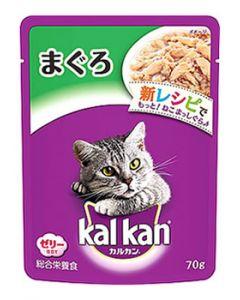 【特売セール】 マースジャパン カルカン パウチ まぐろ ゼリー仕立て (70g) 成猫用 キャットフード