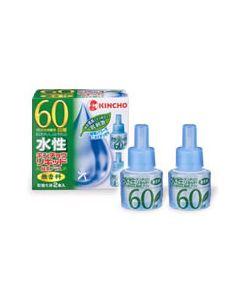 【○】 キンチョウ 水性キンチョウリキッド 緑茶プラス 【60日用】 取替え液 (2本入り)