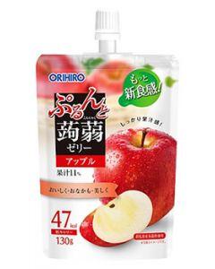オリヒロ ぷるんと蒟蒻ゼリー スタンディング アップル (130g) こんにゃくゼリー ※軽減税率対象商品