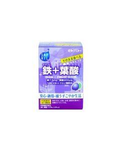 井藤漢方 サプリル 鉄+葉酸 【プルーン味】 顆粒スティック (2g×30袋) ※軽減税率対象商品