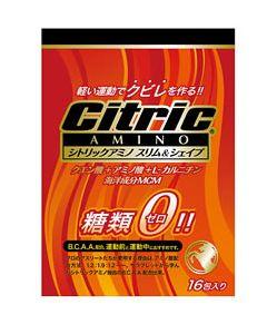 シトリックアミノ スリム&シェイプ 糖類ゼロ 【500ml用】 (6g×16包入り) ※軽減税率対象商品