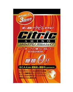シトリックアミノ スリム&シェイプ 糖類ゼロ 【500ml用】 (6g×3包入り) ※軽減税率対象商品