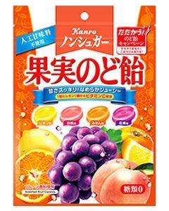 カンロ ノンシュガー 果実のど飴 (90g) のどあめ ※軽減税率対象商品