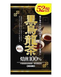 オリヒロ 黒烏龍茶 くろウーロン茶 煮出し 焙煎100% (52包) ※軽減税率対象商品