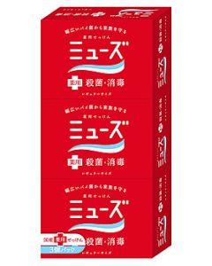 【☆】 レキットベンキーザー 薬用せっけん ミューズ石鹸 レギュラーサイズ (95g×3個) ミューズ 石けん 【医薬部外品】