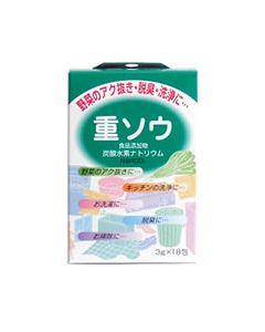 健栄製薬 ケンエー 食品添加物 重ソウ 炭酸水素ナトリウム (NaHCO3) (3g×18包) ※軽減税率対象商品