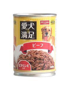 エムズワン 愛犬満足 ビーフ ドッグフード (375g)