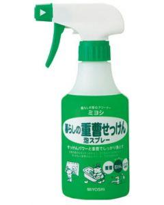 ミヨシ石鹸 暮らしの重曹せっけん 泡スプレー 本体 (280ml)