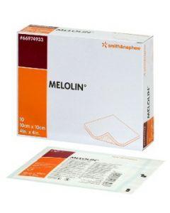 【◇】 スミス・アンド・ネフュー MELOLIN メロリン 非固着性ドレッシング 【10cm×10cm】 (10枚入)